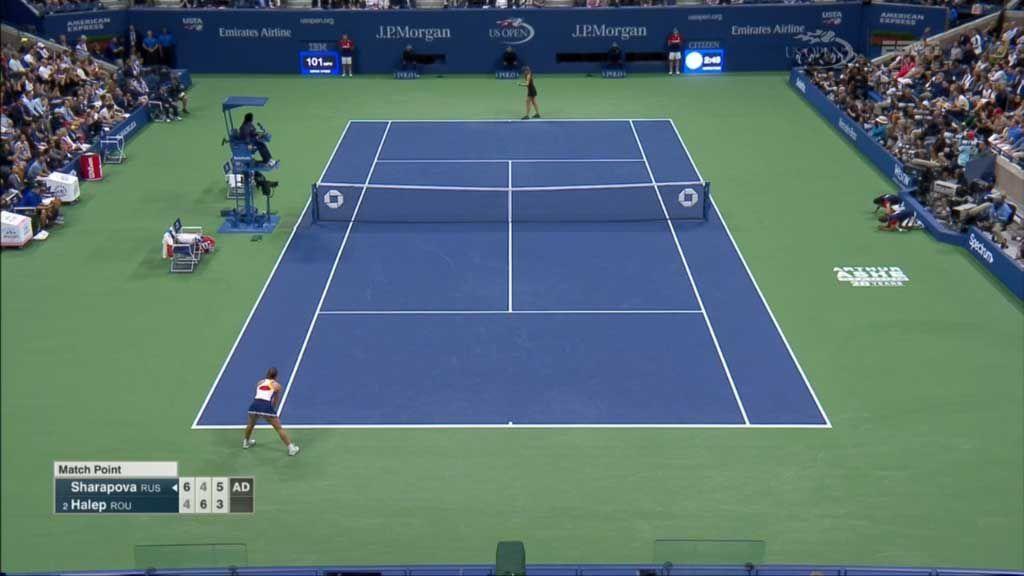 Sharapova makes winning return