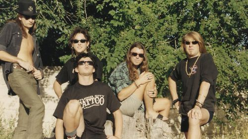 The Screaming Jets pictured in 1993. Picture: Facebook