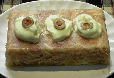 Jellied chicken loaf