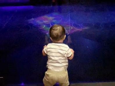 Toddler strip club work with mum TikTok