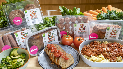 Woolworths & Veg range of mince products