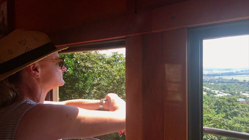 Windows to another world. The supreme views of the Kuranda Scenic Rail.