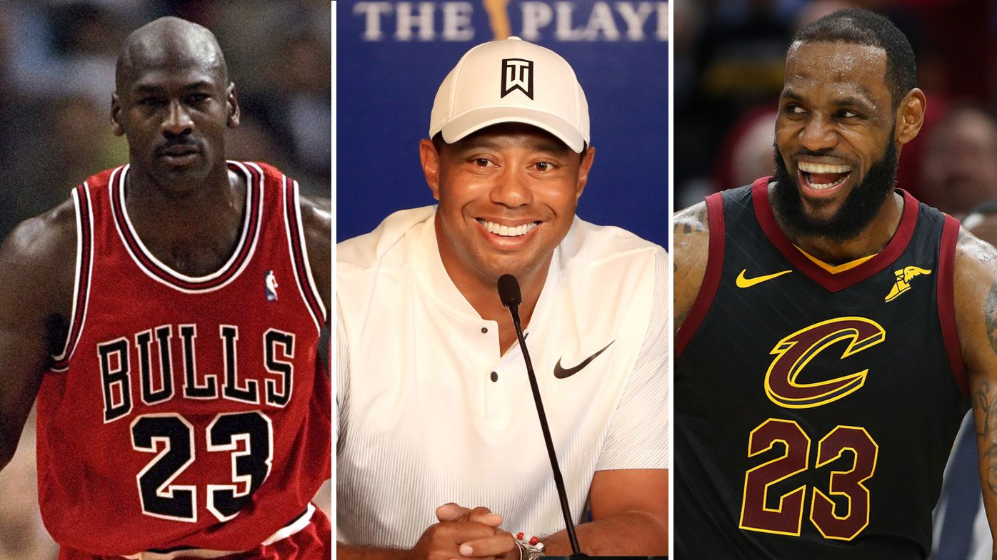 8c1bf073e10 NBA  Tiger Woods weighs-in on LeBron James vs Michael Jordan debate