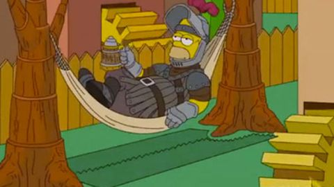 Watch: The Simpsons' <I>Game of Thrones</i> couch gag