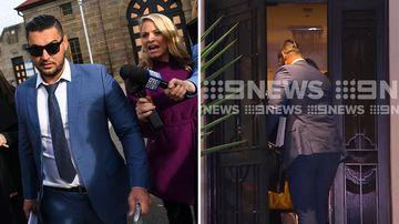 190521 Salim Mehajer walks free from jail returns home crime news Sydney NSW Australia SPLIT