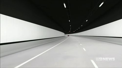 The new tunnel is supposed to bring relief for Western Sydney motorists. (9NEWS)
