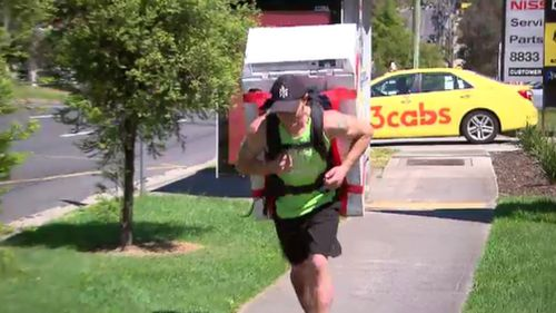 Dave Garvin is raising money and awareness for youth mental health service, Headspace.