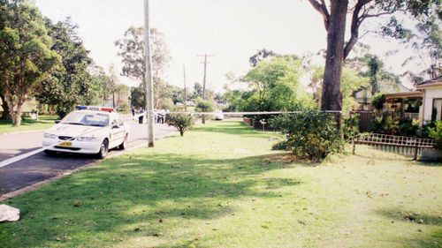 Mr Nickel was stabbed outside his home, pictured here in 1999. (AAP)