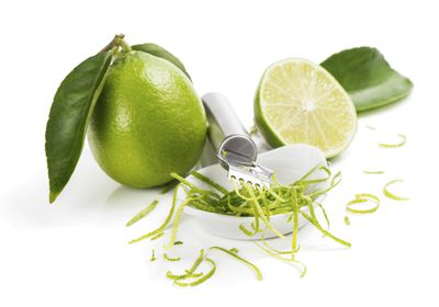 <strong>Lime zest</strong>