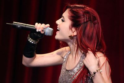 The diva star began to shine during her onstage performances.