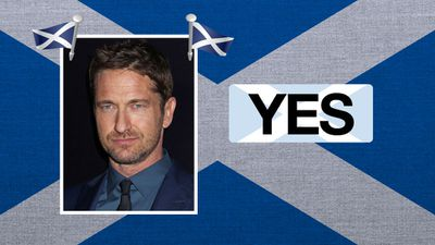 """Gerard Butler, actor: """"I can't see any reason why Scotland shouldn't be independent."""""""