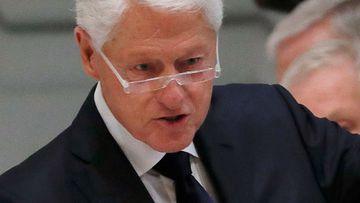 Bill Clinton does not have coronavirus, his doctors say.