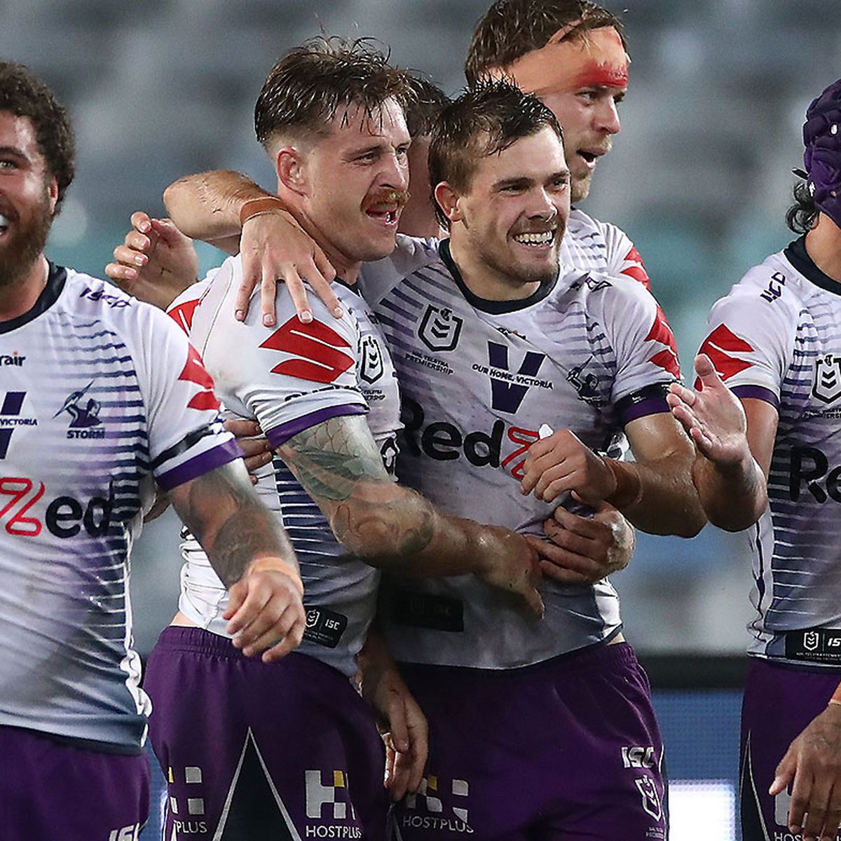 Nrl Melbourne Storm Down South Sydney With Big Second Half