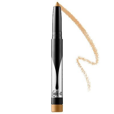 Concealer applied around the eyes can come up cakey and sneak into creases. This toned primer is formulated specifically for the eye area to ensure a smooth finish. Aimed at targeting discoloration and imperfections, it glides on and stays put, creating a really great base for eyeliner and shadow. <br />