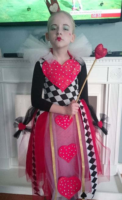 "Queen of Hearts from Alice in Wonderland is awfully dramatic and popular with the tweens. You could stay up all night cutting out red squares or you could buy this from <a href=""https://www.costumebox.com.au/queen-of-hearts-tween-girls-costume.html?gclid=EAIaIQobChMImLP6uorg1QIVhCy9Ch0ndw3eEAQYAiABEgKxA_D_BwE"" target=""_blank"" draggable=""false"">Costume Box</a>."