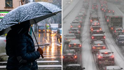 New York hit by first deadly snowstorm of winter