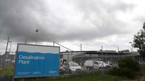 The desalination plant at Kurnell has been in 'hibernation' for years.