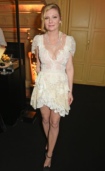 The actress stuns in the same dress in 2017 at a Chopard event in Paris.