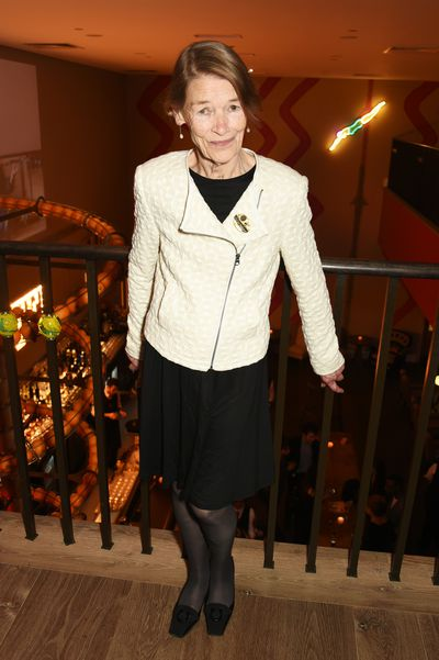 <p>Glenda Jackson at Old Vic's production of King Lear in London November 2016 </p>