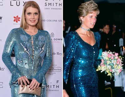 Kitty Spencer and Princess Diana share a passion for fashion