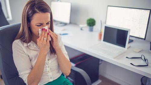 A team of Brisbane scientists have discovered genetic markers that could help explain why people develop allergic conditions such as asthma, hay fever and eczema. (File image)