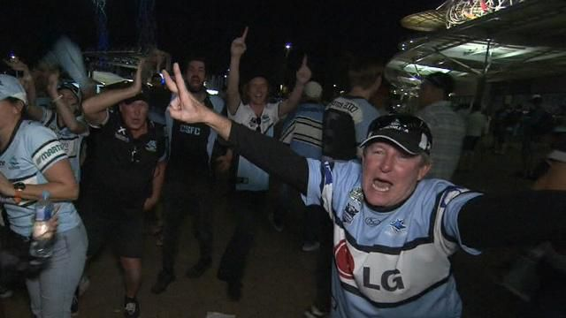 Sharks fans still partying after historic grand final win