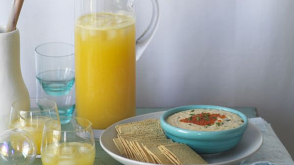 Pineapple, passionfruit and ginger punch