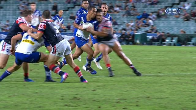 Canterbury Bulldogs fullback Will Hopoate faces nervous wait on concussion news and possible facial fractures