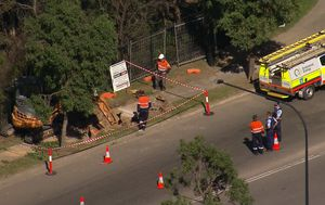 Two workers in serious condition after electrical explosion at western Sydney worksite