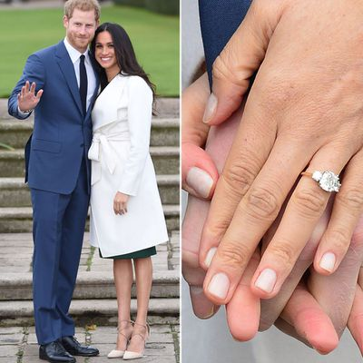 Meghan Markle's engagement ring