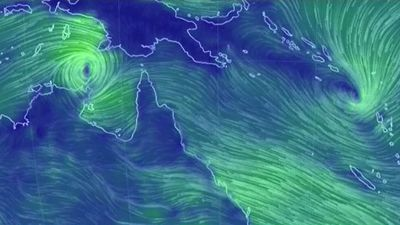 Cyclone 'rapidly' intensifies as it moves towards Queensland coast