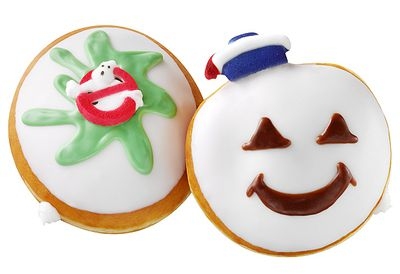 Ghostbusters doughnuts