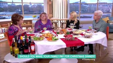 Mother charges her guests $50 for Christmas dinner