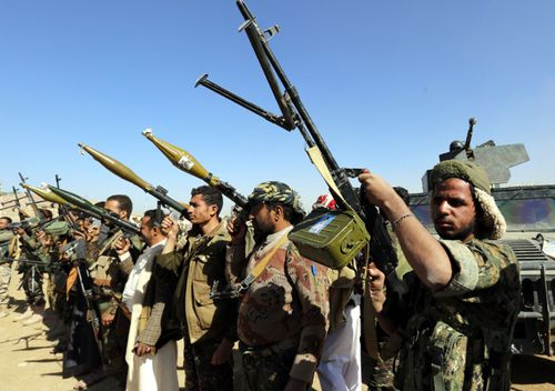 Shiite Houthi rebels have been targeted by government-backed drone attacks in Yemen.