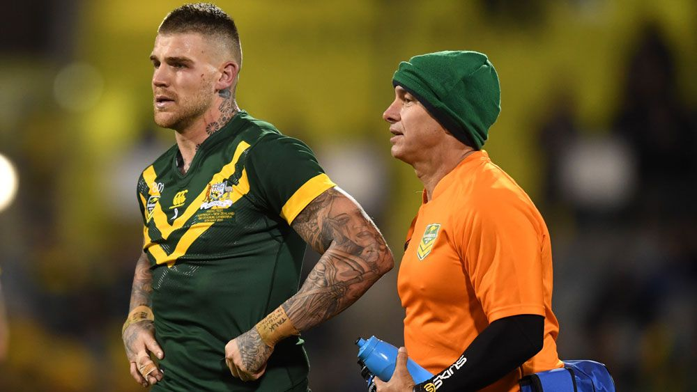 NSW coach Laurie Daley holds hope for Josh Dugan's fractured cheekbone for Origin