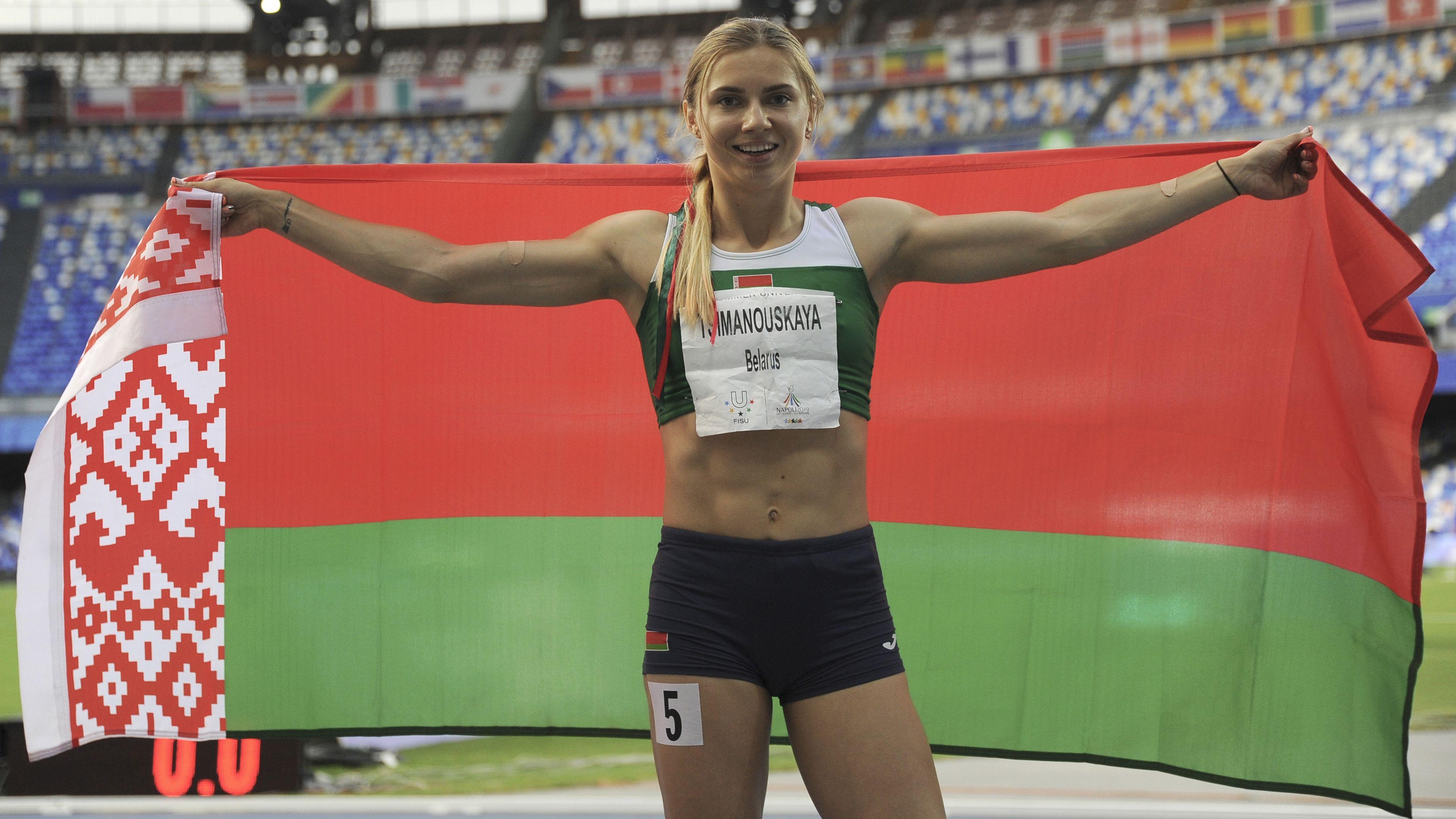 Tokyo 2021: Krystsina Tsimanouskaya says she would face punishment if she returned to Belarus