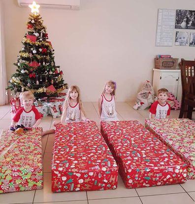 Lismore mum family home savings xmas