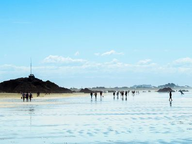 South Island's popular Sumner Beach