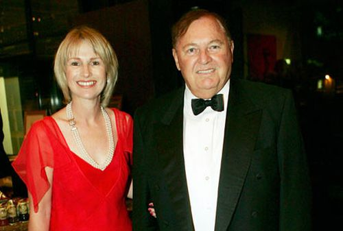 Diana Bilss with Alan Bond. (Getty Images)