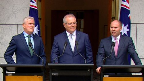 Scott Morrison made the annoucement today.