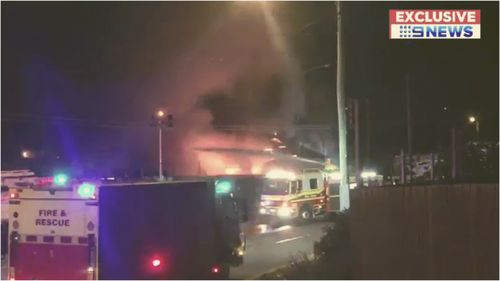 Police are investigating after two blazes at separate laundromats in Brisbane early this morning.