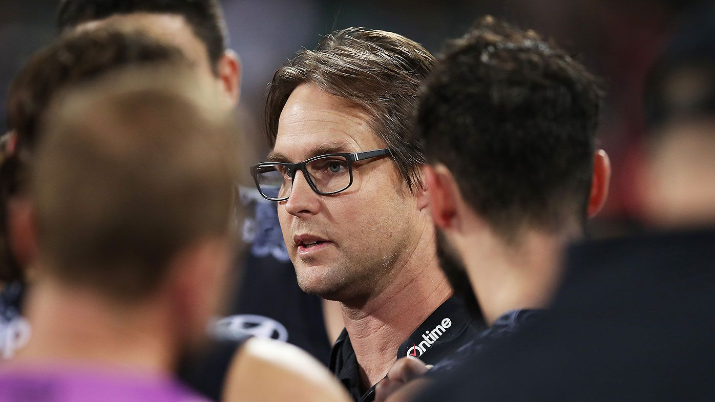 Collingwood looming as 'red herring' as David Teague's future hinges on Carlton's external review