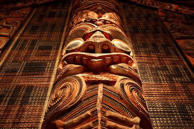 7. Maori carvings in New Zealand