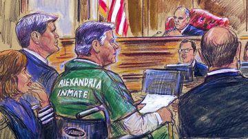 Paul Manafort wore a prison jumpsuit in court.