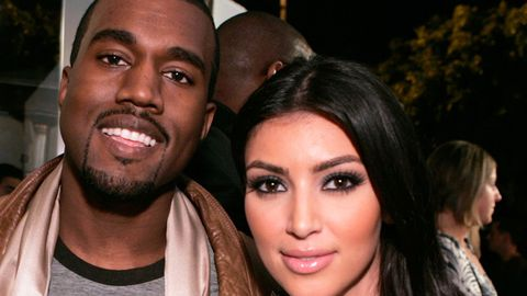 Kanye West 'all over' Kim Kardashian
