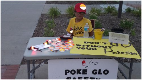 Young boy raises $10K to help keep Pokémon Go players safe