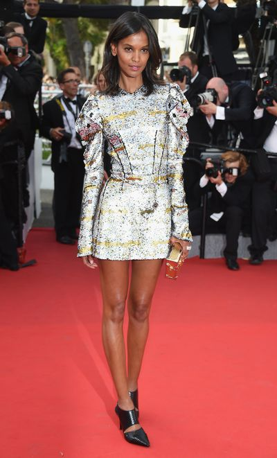 Liya Kebede in Louis Vuitton