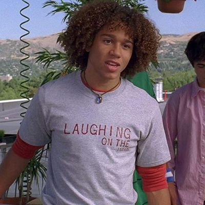 Corbin Bleu as Chad Danforth: Then