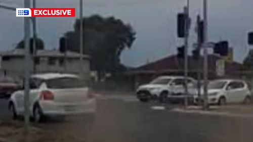 A 21-year-old man is accused of leading police on a chase in a stolen car.