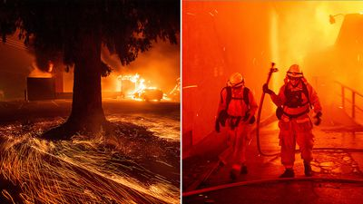 Fast-moving wildfire leaves 'Paradise' in ruins